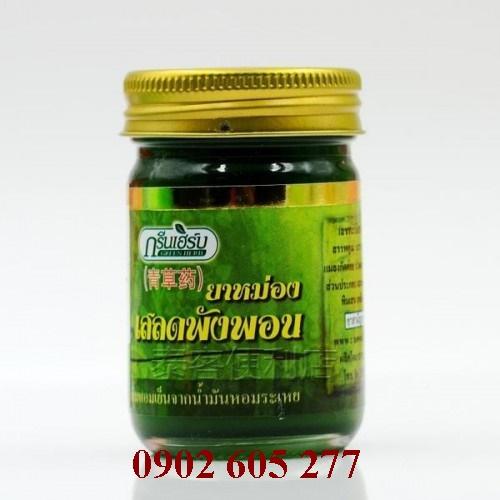 Dầu cù là xoa bópGreen Herb 50gr Thái Lan