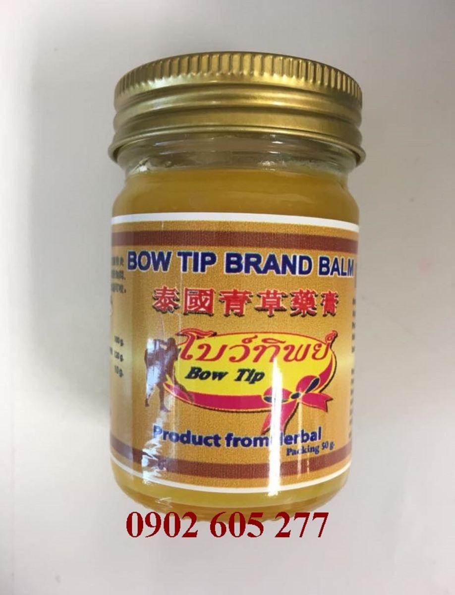 Dầu bôi BOW TIP BRAND BALM vàng 50gr