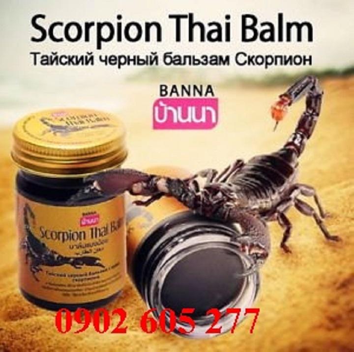 Phân phối Cao xoa bóp bọ cạp Thái Lan tại Huế