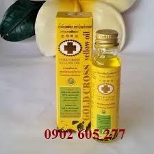 Dầu thảo dược tốt nhất – dầu thập tự vàng – dau thao duoc tot nhat