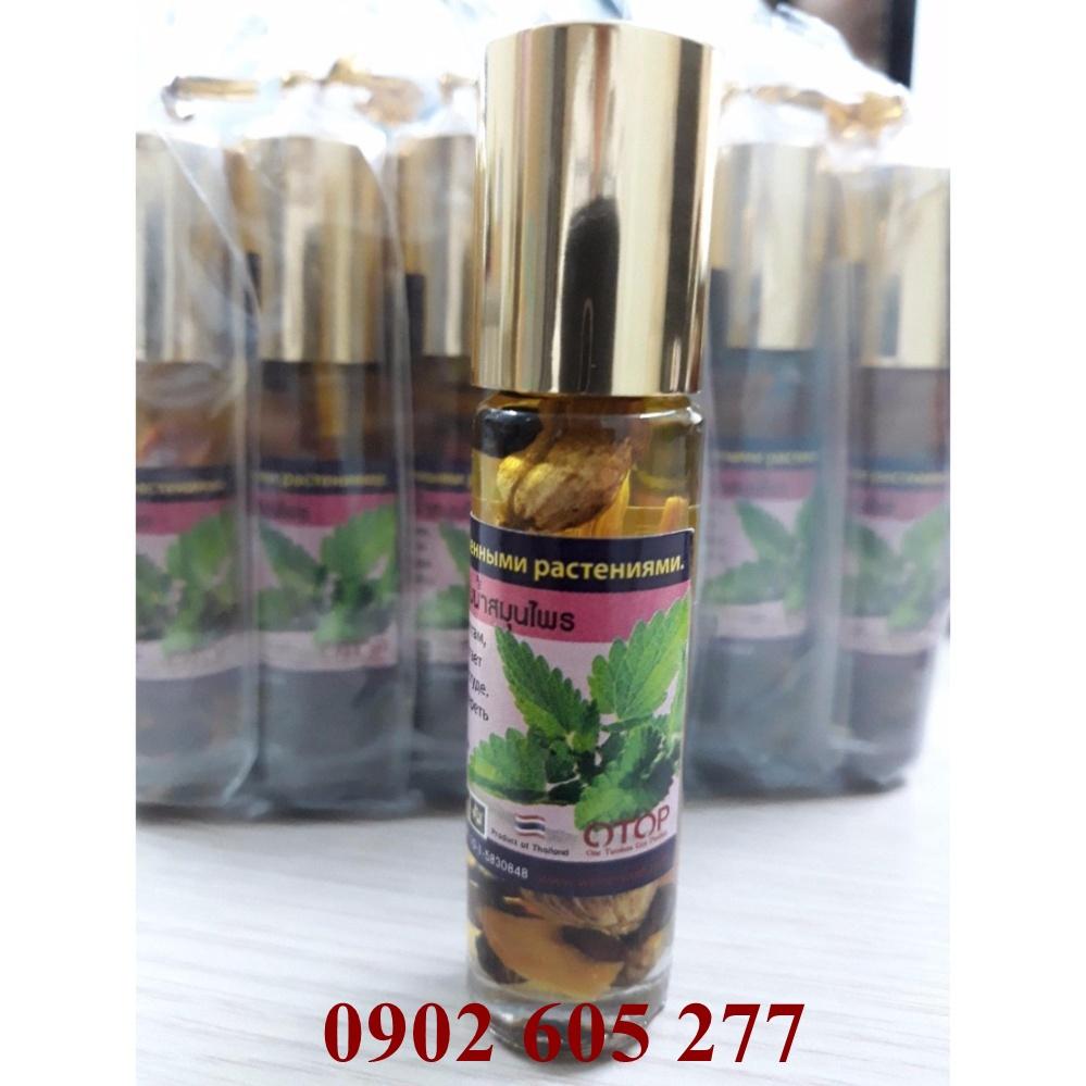 Dầu lăn thảo dược hương bạc  - Oil Balm With Herb