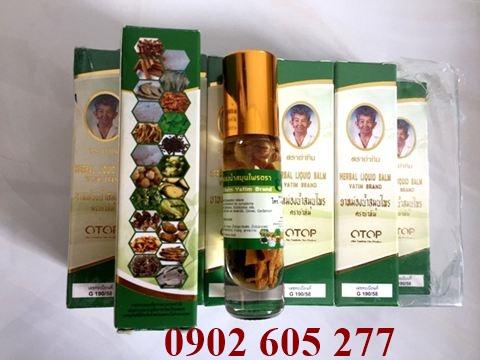 Những công dụng của dầu thảo dược thái lan 22 vị - nhung cong dung cua dau thao duoc 22 vi