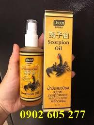 Chai xịt xoa bóp Bò Cạp (Scorpion) Thái Lan
