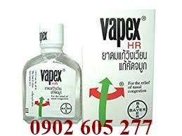 Cung cấp Dầu trị nghẹt mũi Vapex Thái Lan giá sỉ