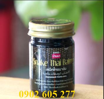 Dầu cù là cao rắn Thái Lan -  Snake Thai Balm
