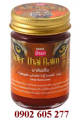 Dầu xoa bóp con hổ Tiger Thai Balm