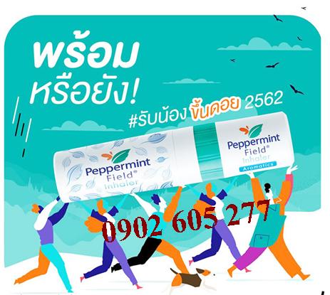 Ống Hít PEPPERMINT FIELD Inhaler Thái Lan