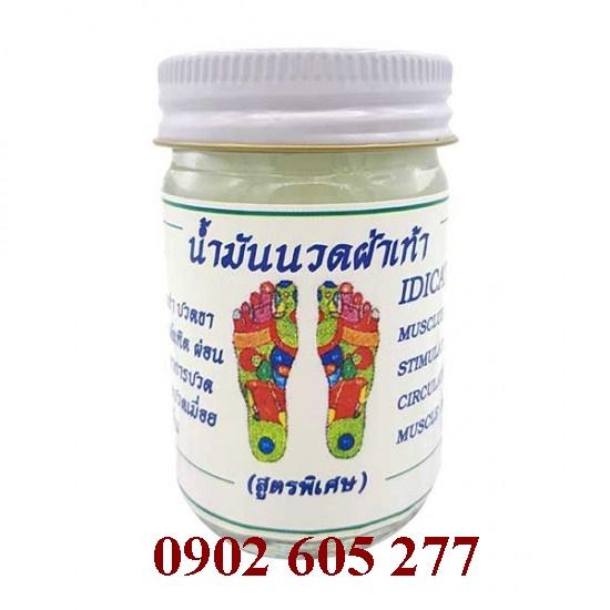 Bỏ sỉ Dầu Massage chân Thái Lan tại Hà Nội