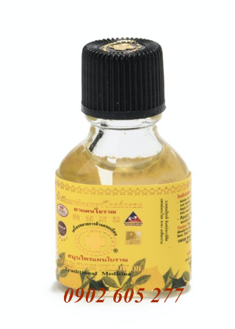 Dầu thập tự vàng 3ml - gold cross yellow oil 3ml