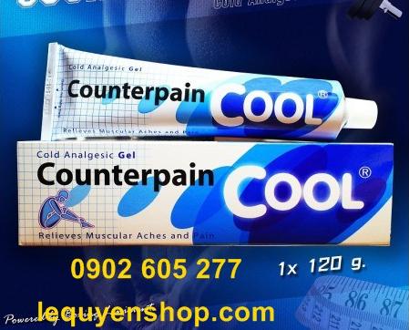 Giới thiệu về Dầu xoa bóp Counterpain lạnhThái lan - tại quận 12