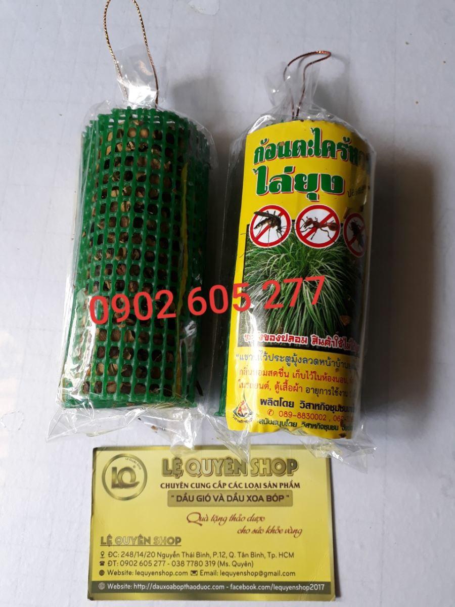 Túi Treo Lồng hương Sả Đuổi Muỗi Thái Lan
