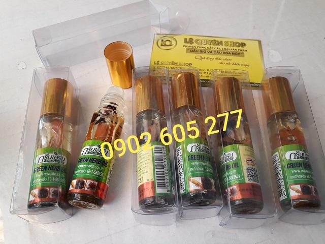 Nhà phân phối Dầu lăn thảo dược nhâm sâm green herb oil tại Hà Nội