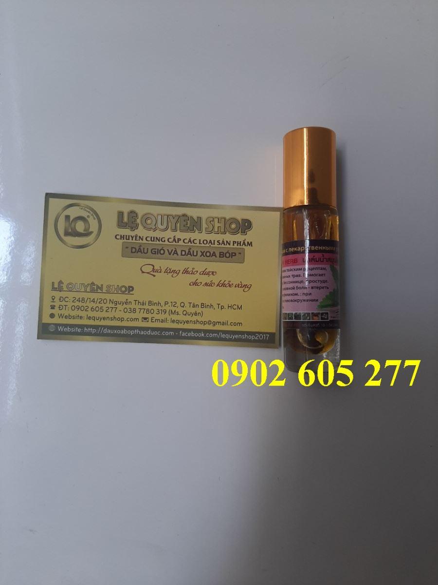 Bỏ sỉ Dầu lăn thảo dược Thái Lan hương bạc hà tại Hải Phòng